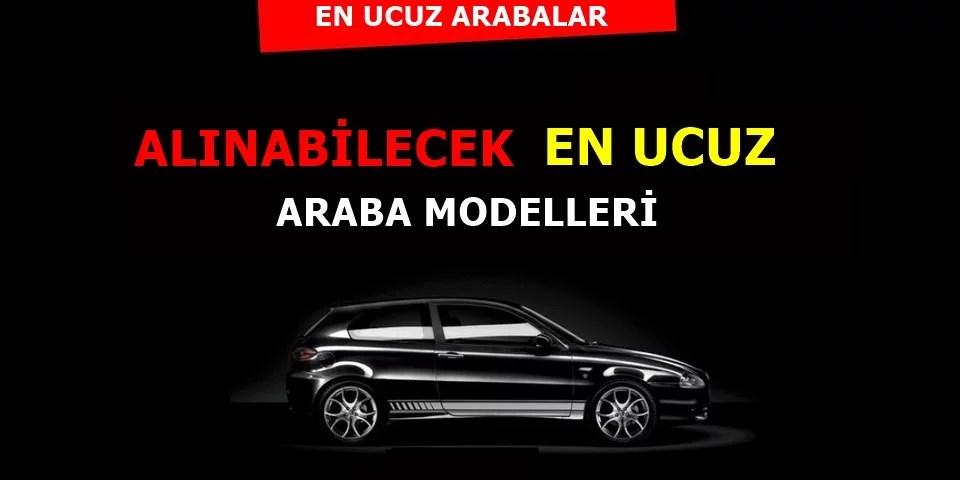 Türkiye'de Alınabilecek En Ucuz Sıfır Araba Modelleri 2021
