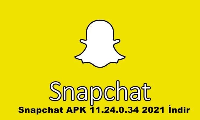 Snapchat APK 11.24.0.34 2021 İndir