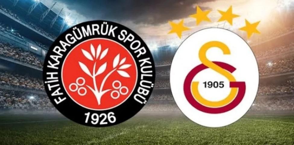 Galatasaray Fatih Karagümrük Maç Tahmini