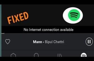 Spotify İnternet Bağlantısı Yok Hatası