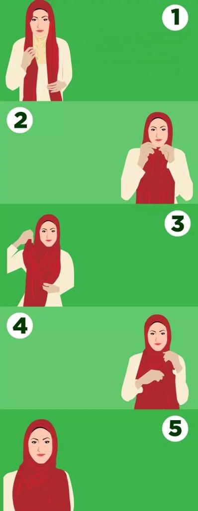Eşarp Nasıl Bağlanır