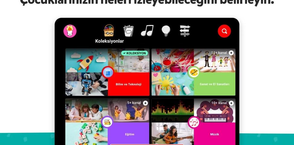 Android için Çocuklara Özel YouTube Kids Apk İndir 2021