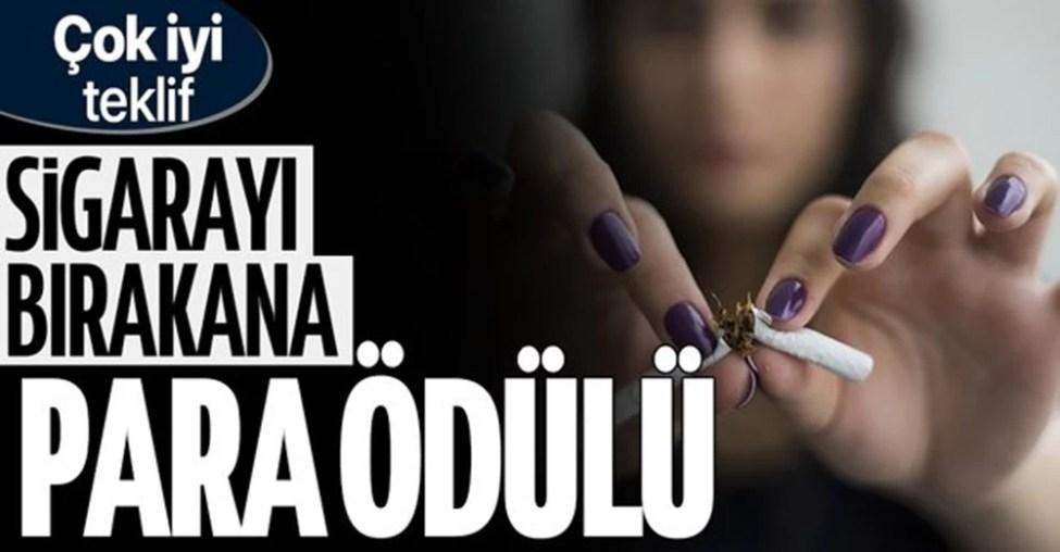 İngiltere'de Sigarayı Bırakanlara 5 Bin Lira Para Ödülü Verilecek