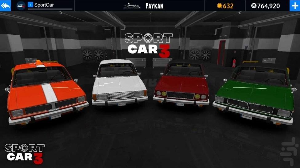 Sport Car 3 Apk Para Hileli