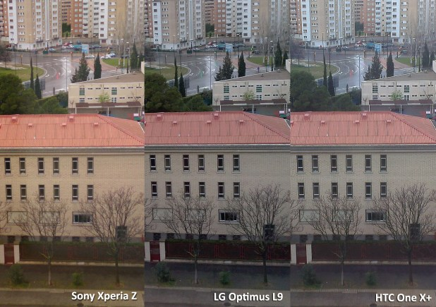 comparativa Sony Xperia Z - HTC One X plus - LG Optimus L9