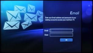 Acceso a aplicación Email