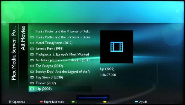 Philips Smart TV - Plesk Media Server