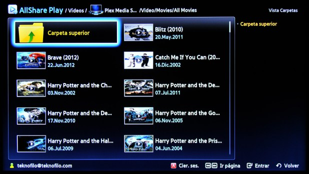 Samsung Smart TV AllShare Play