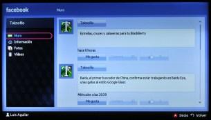 Samsung Smart TV Facebook