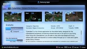 Samsung Smart TV Fitness