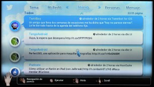 Samsung Smart TV Twitter