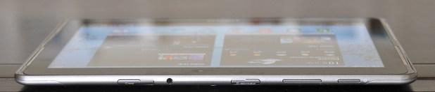 Galaxy Tab 2 10.1 - parte superior