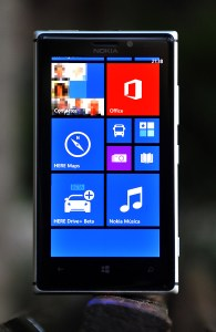 Nokia Lumia 925 - frontal