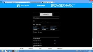 Test Browsermark 2.0