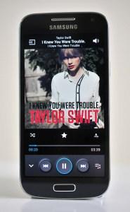 Samsung Galaxy S4 Mini - musica