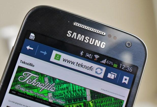 Samsung Galaxy S4 Mini - pantalla