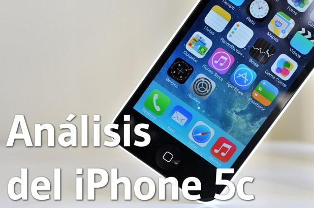 Analisis del iPhone 5c