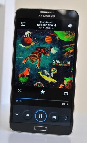 Samsung Galaxy Note 3 - Musica