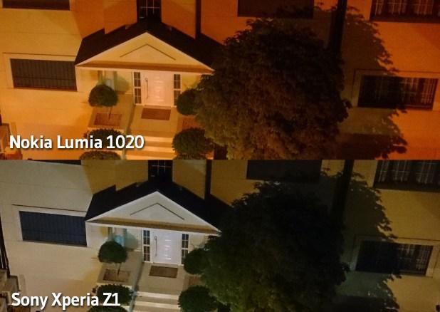 Xperia Z1 vs Lumia 1020