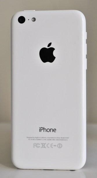 iPhone 5c - atras