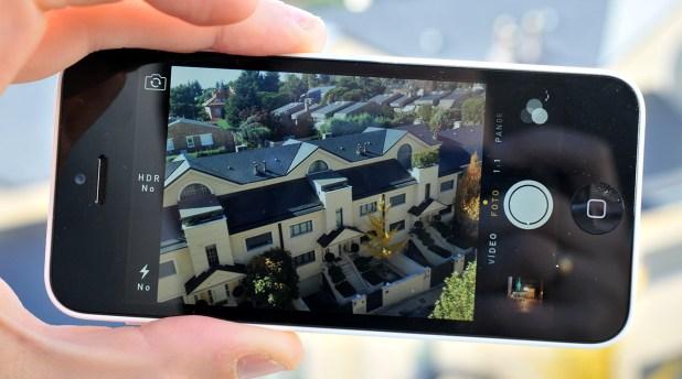 iPhone 5c - camara