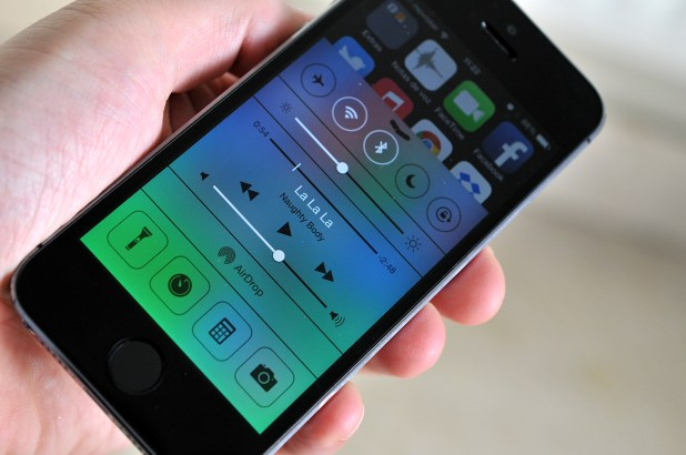 iPhone 5s - Centro de Control