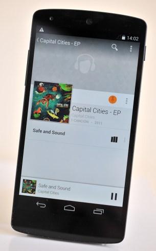 Google Nexus 5 - Musica