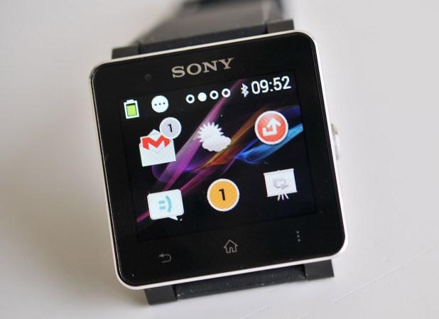 Sony SmartWatch 2 - pantalla