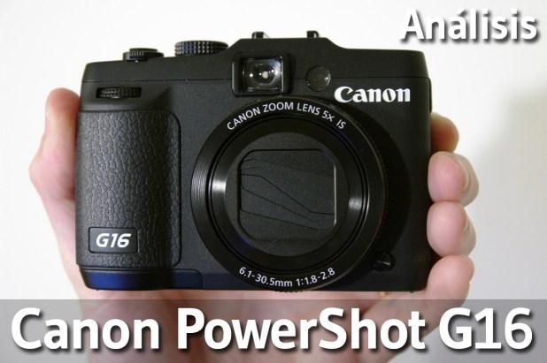 Analisis Canon Powershot G16