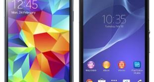 Samsung Galaxy S5 vs Sony Xperia Z2
