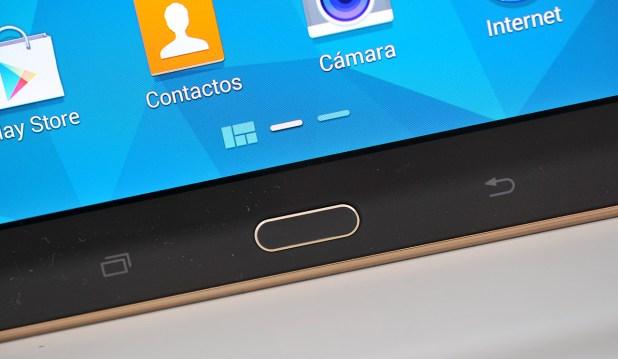 Samsung Galaxy Tab S - Botones