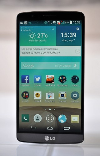LG G3 - Frontal
