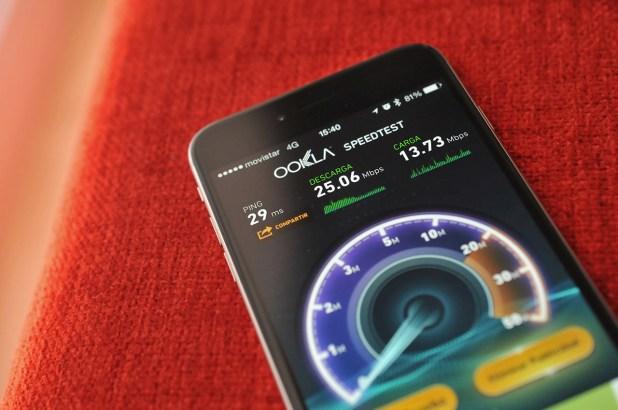 iPhone 6 Plus - Prueba velocidad