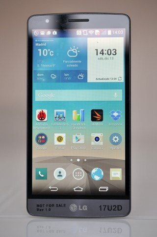 LG G3 S - frontal