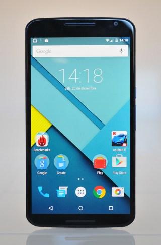 Google Nexus 6 - Frontal
