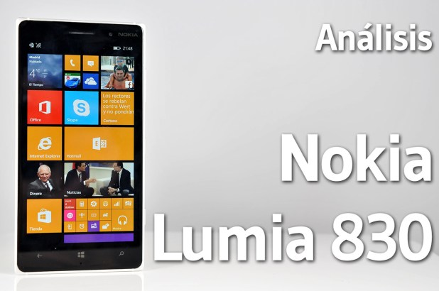 Nokia Lumia 830 - Analisis