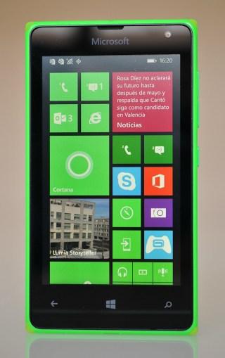 Microsoft Lumia 532 - frontal