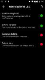 Ajustes en OnePlus X
