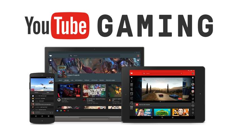 YouTube presenta su aplicación de videojuegos