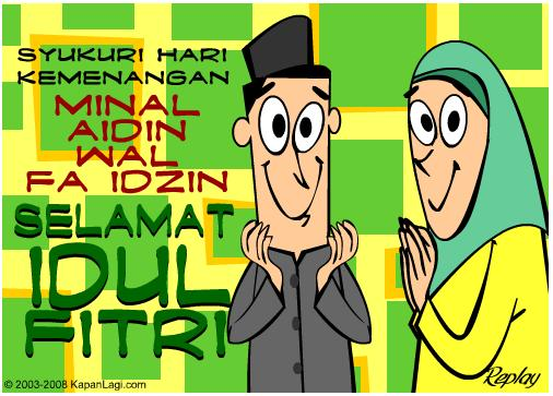 Sms Ucapan Lebaran Idul Fitri 2014 1435 H Lucu Dan Bijak