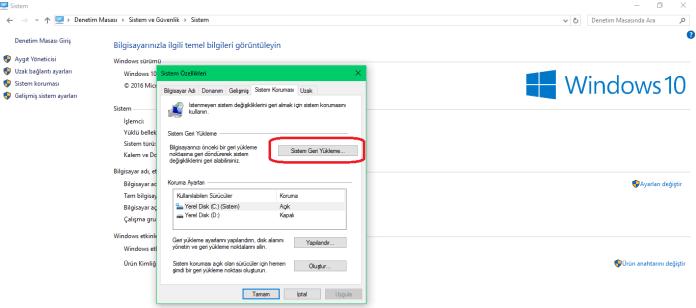 Windows 10 Hata!