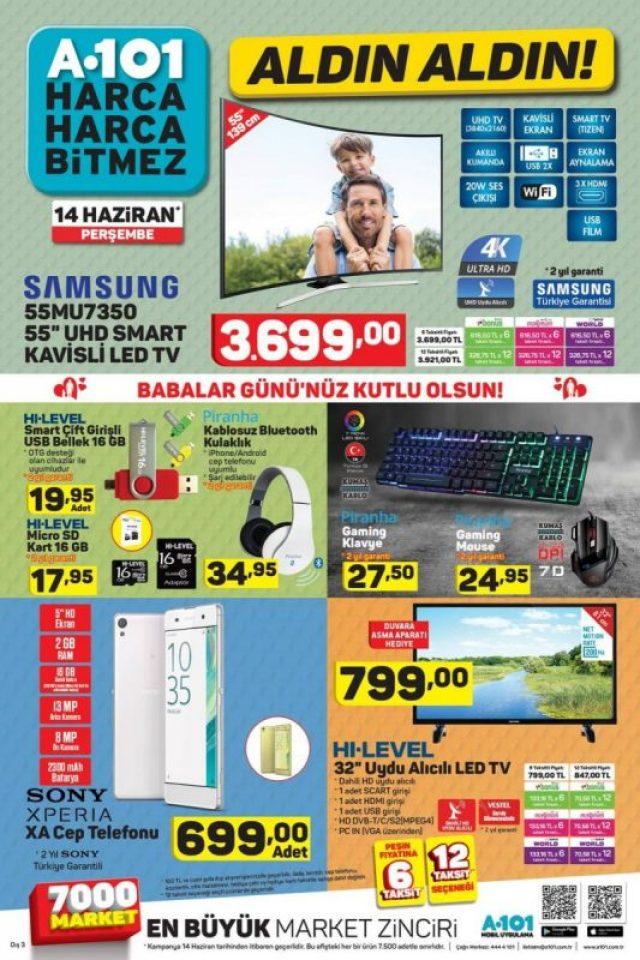 A101 14 Haziran Aktüel Ürünler