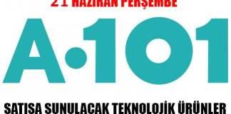 A101 21 Haziran Satışa Sunulacak Ürünler