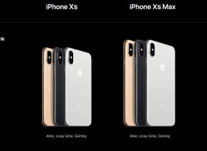 iPhone XS vsXs Max Renkleri