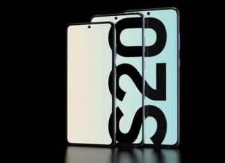 Samsung Galaxy S20 kapak görsel