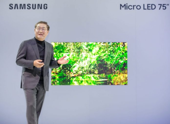 Samsung Micro LED TV 75 İnch