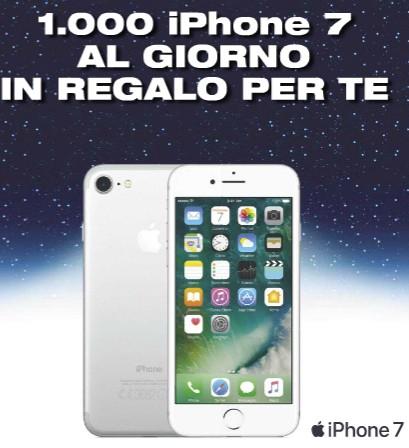 Esselunga mette in palio 1000 iPhone 7 ogni giorno