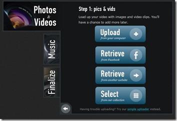 animoto - hvordan lage enkel video av bilder eller nettside