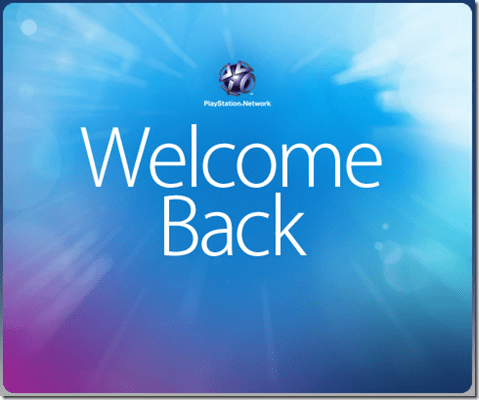 PS3, Playstation Network, PSN, Welcome back pack, free, gratis