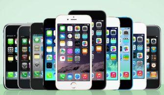 İlk Zamanından Bugününe Bütün iPhone Modelleri